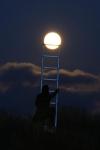 Super Moon in SuperAnticipation
