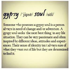 Gypsy soul defined