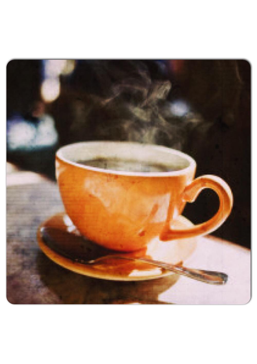 coffee dancing steam